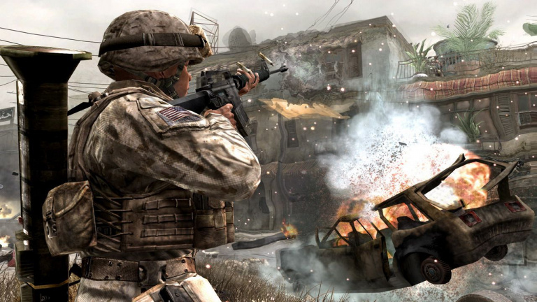 "Call of Duty 4 : Modern Warfare aurait pu être remplacé par un ""Halo Killer"""