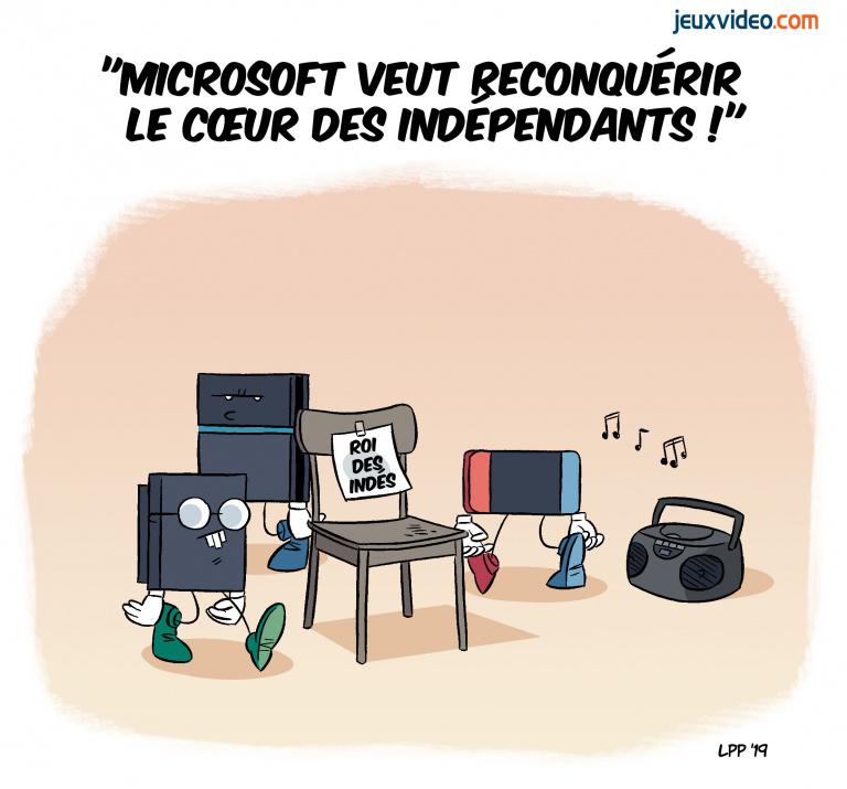 Billet : Microsoft est en train de regagner le cœur des indépendants