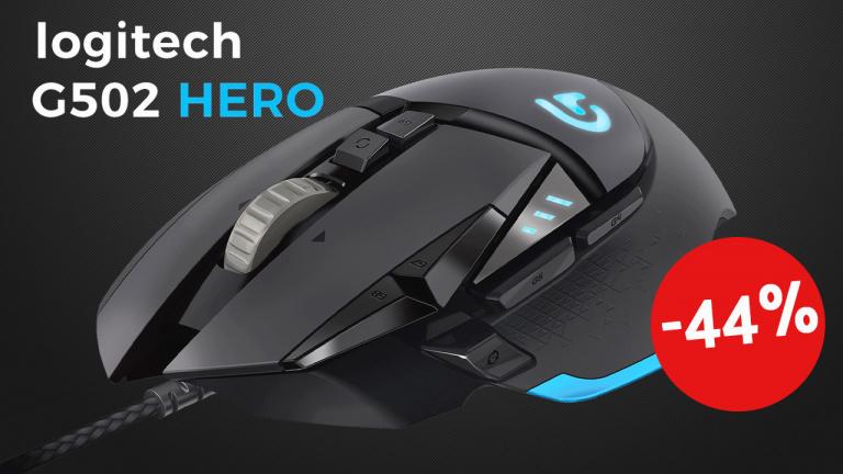 Souris gamer Logitech G502 Hero à – 44% chez Boulanger!