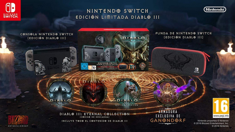 Nintendo Switch Edition Limitée Diablo III disponible et avec 44€ de réductionchez Amazon!