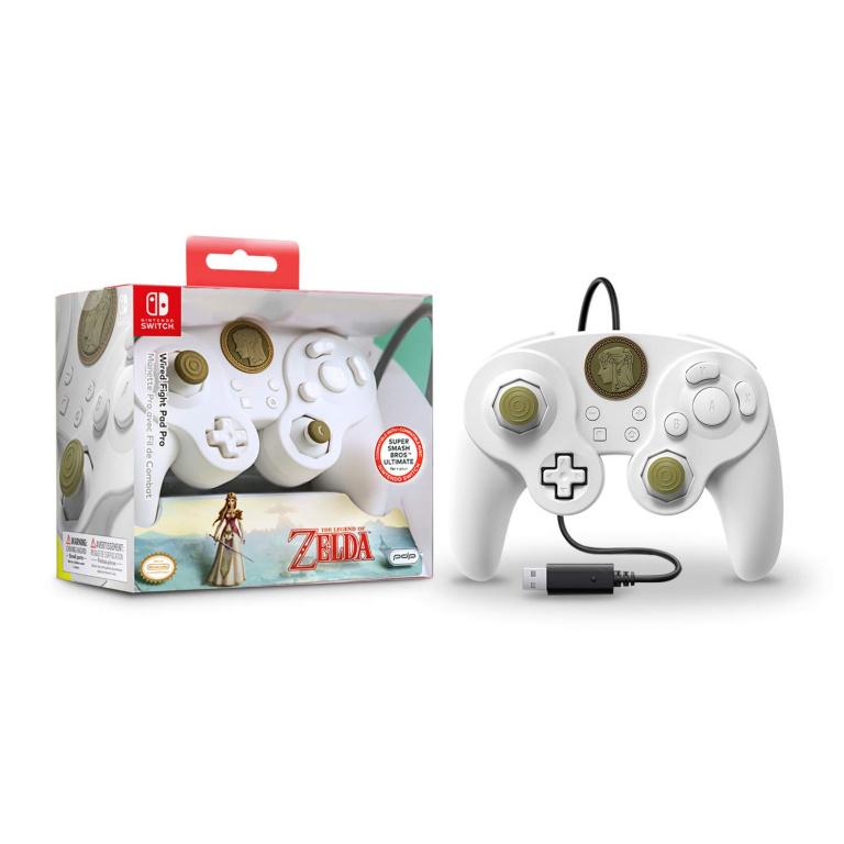 Manette filaire Nintendo Switch Zelda Super Smash Bros en promo!