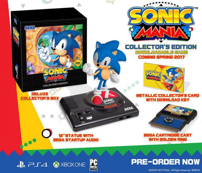 Sonic Mania : Edition Collector à 40% de réduction sur Amazon