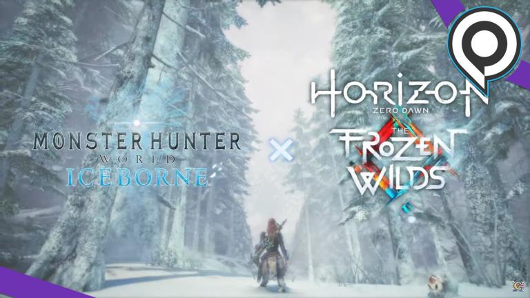 gamescom 2019 : Monster Hunter World : Aloy de Horizon Zero Dawn sera de nouveau jouable sur PS4