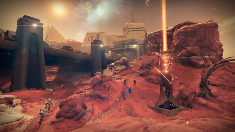 Destiny 2 : un évènement communautaire sur Mars débutera le 3 septembre