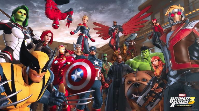 Marvel Ultimate Alliance 3 : les trois premiers costumes gratuits se montrent