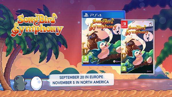 Songbird Symphony va avoir droit à une édition physique sur PS4 et Switch