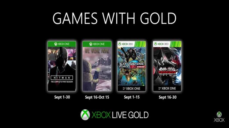 Xbox Live Gold : Les jeux gratuits du mois de septembre 2019
