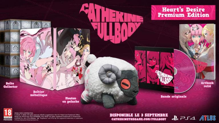 Catherine Full Body Hearts Desire Premium Edition disponible à 79,99€ chez Amazon!