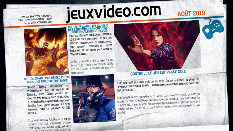 Les infos qu'il ne fallait pas manquer le 20 août : gamescom 2019, Final Fantasy VIII Remastered, Dead by Daylight,...