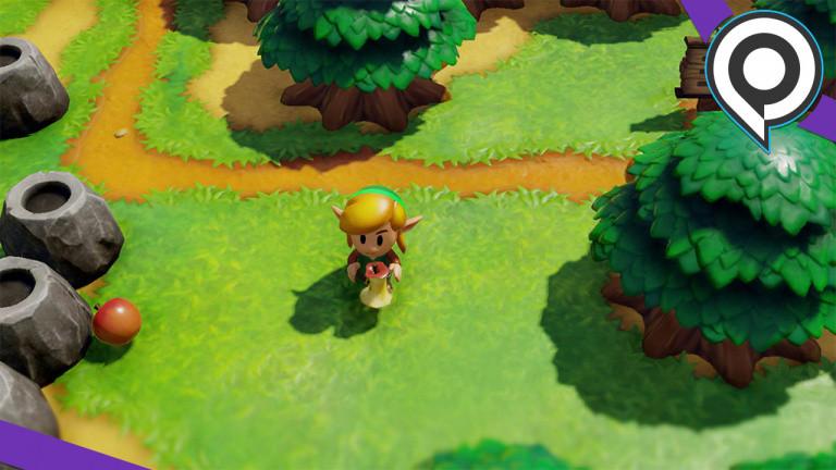 The Legend of Zelda : Link's Awakening, un nouveau contact séduisant - gamescom 2019