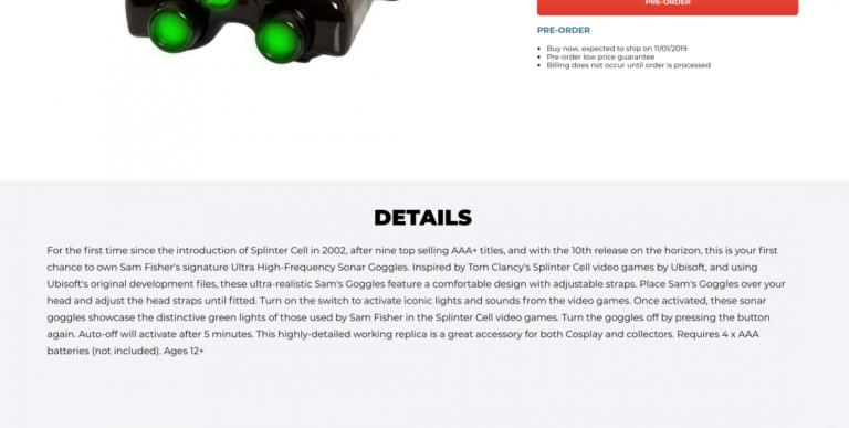 [Rumeur] Un nouveau Splinter Cell dévoilé par erreur par GameStop (Micromania)