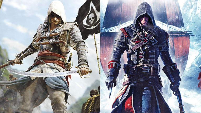 Assassin's Creed : The Rebel Collection va hisser les voiles sur Switch