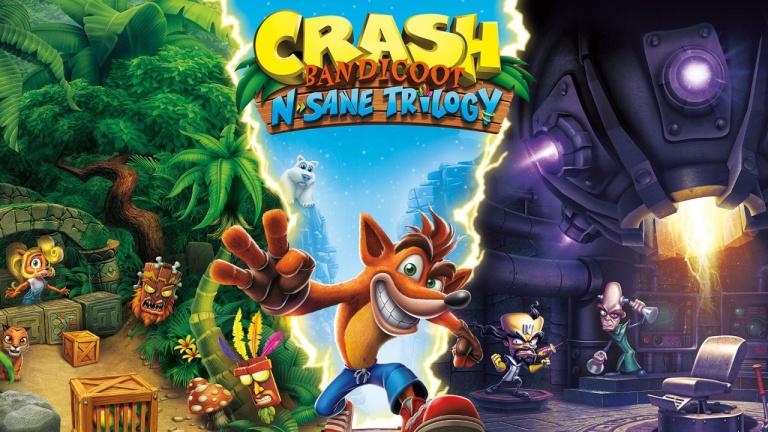 Crash Bandicoot N'Sane Trilogy en promotion chez Amazon!