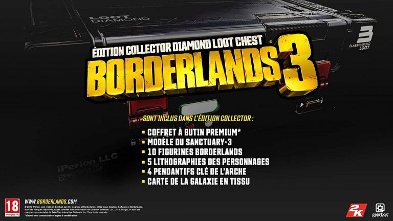 Borderlands 3 Edition collector de nouveau disponible !