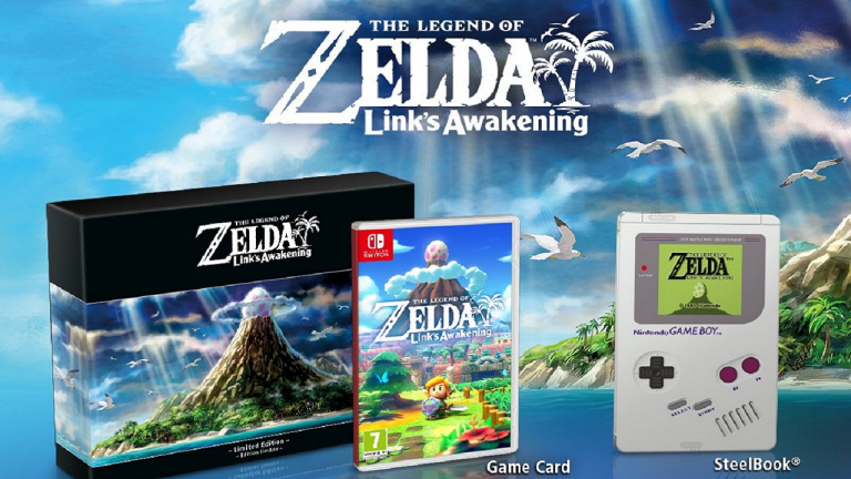 The Legend of Zelda Link's Awakening Edition Collector de nouveau disponible !