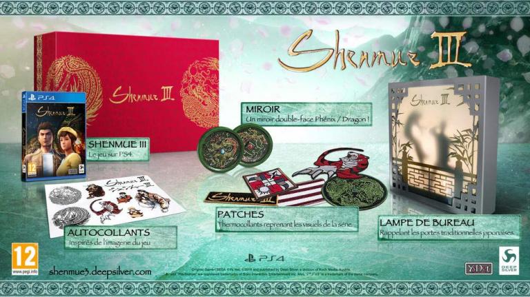 Shenmue III : Focus sur l'Edition Collector