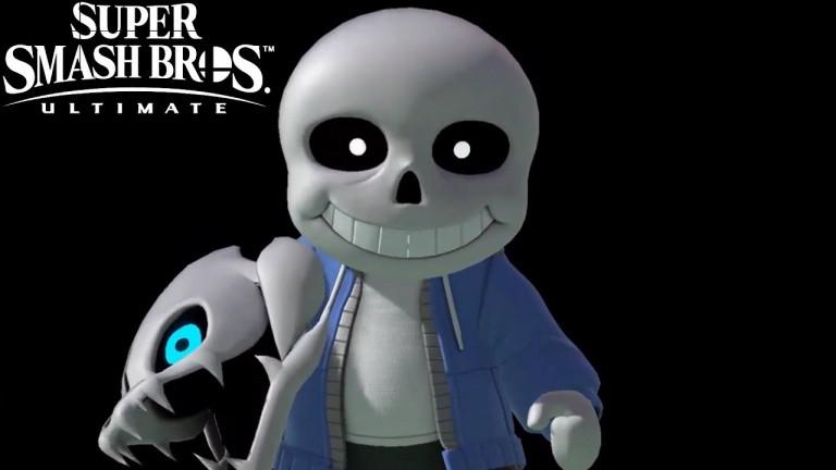 Super Smash Bros. Ultimate : Un costume de Sans (Undertale) pour le Combattant Mii