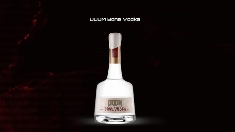 """Doom Eternal : Une """"vodka à l'os"""" pour fêter la sortie du jeu"""