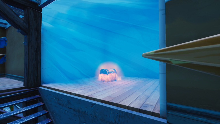Fortnite : comment ouvrir le coffre gelé de Greasy Grove