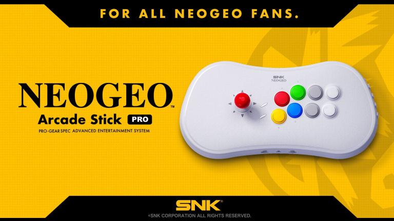 Le ''NeoGeo Arcade Stick Pro'' aura une vingtaine de jeux pré-installés