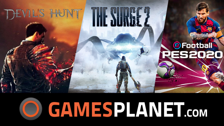 GreedFall, eFootball PES 2020 et The Surge 2 en promotion chez Gamesplanet !