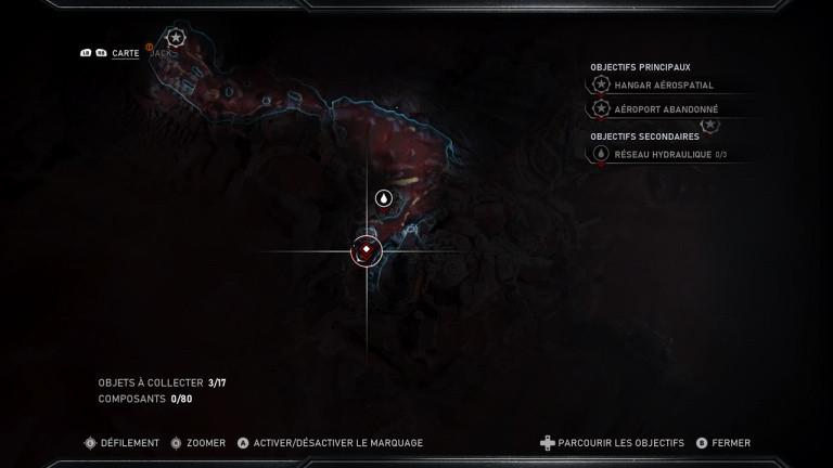 Gears 5 : emplacements des armes reliques