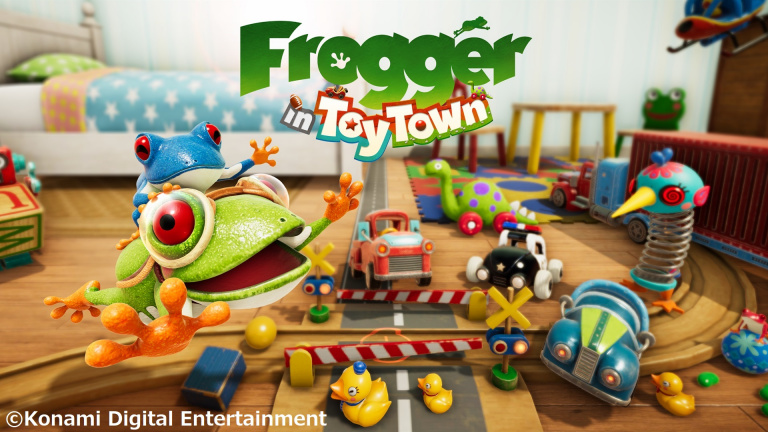 Frogger in Toy Town arrive sur Apple Arcade