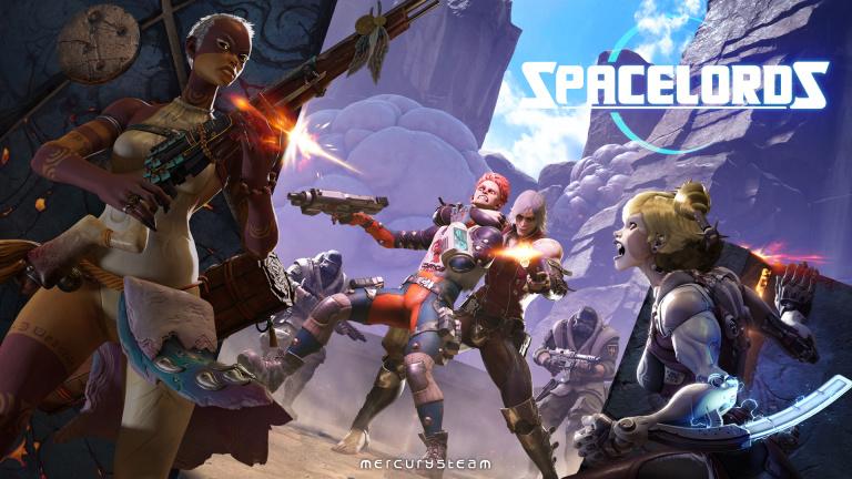 Spacelords : cross-play sur toutes les machines dès maintenant
