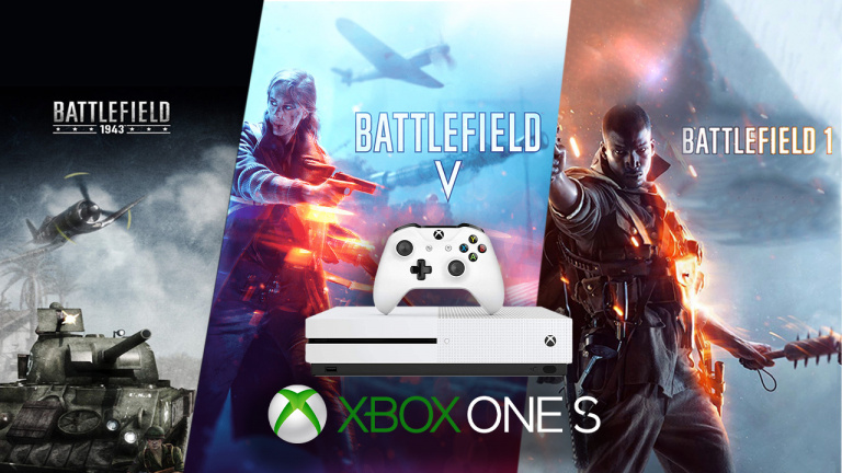 Pack Xbox One S 1 To Battlefield V - Edition Deluxe + BF1 + BF 1943 à 179,99€ chez Amazon !