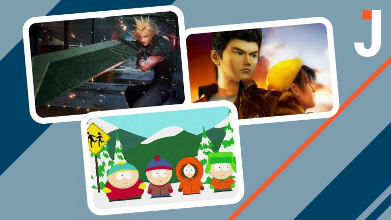 Le Journal : FF VII Remake, Shenmue 3, South Park ... Les news du jour
