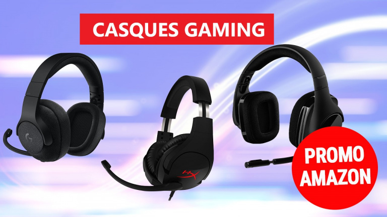 Les casques gaming en promotion chez Amazon !
