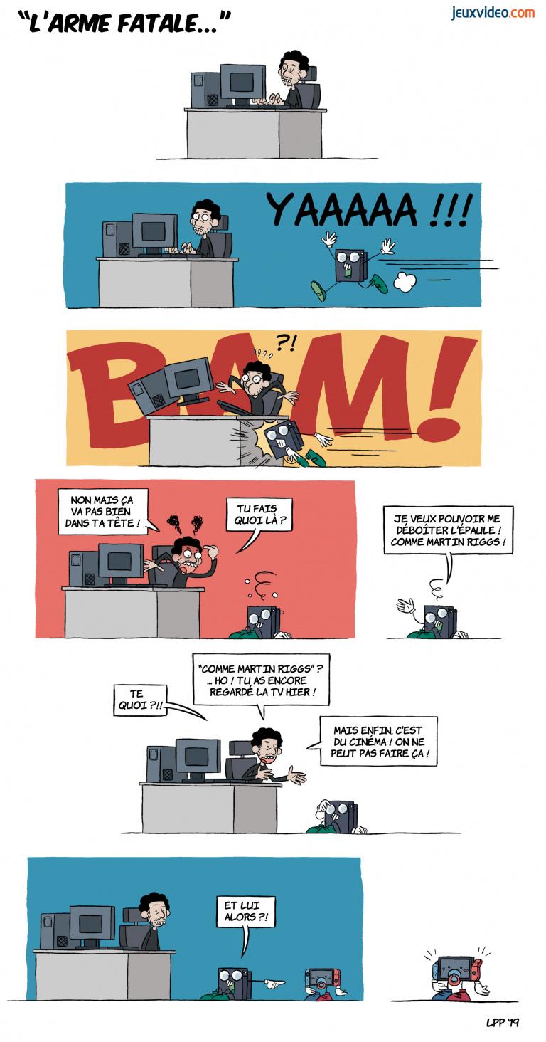 LaPetitePelle dessine Jeuxvideo.com - N°301