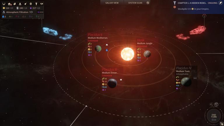 L'Endless Space Collection est gratuite jusqu'à demain sur HumbleBundle