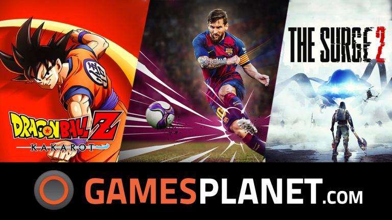 Des précommandes et des jeux à des prix réduits chez Gamesplanet!