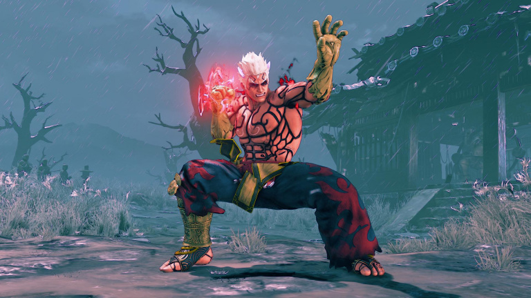 Street Fighter V : un costume à l'image d'Asura's Wrath bientôt disponible pour Kage