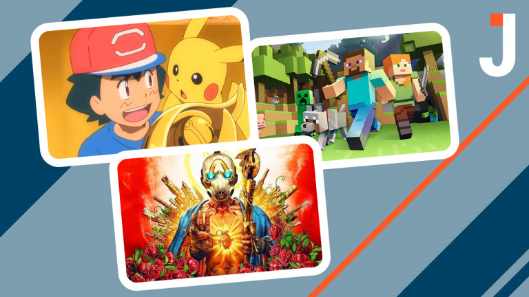 Le Journal : Pokémon, Borderlands 3, Minecraft ... les news du jour