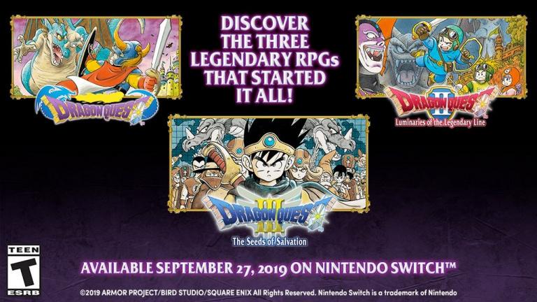 Dragon Quest I, II et III