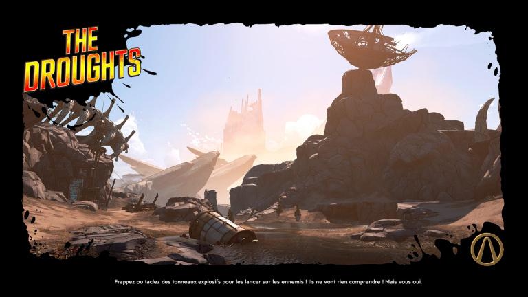 Borderlands 3 : défis des étendues arides