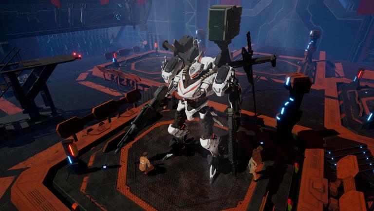 Daemon X Machina, équipement : guide complet sur les armes, les armures et les améliorations
