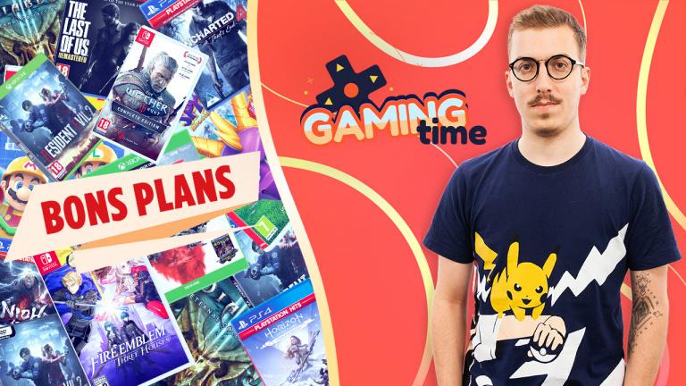 Gaming Time : Les bons plans de la semaine avec Jameson