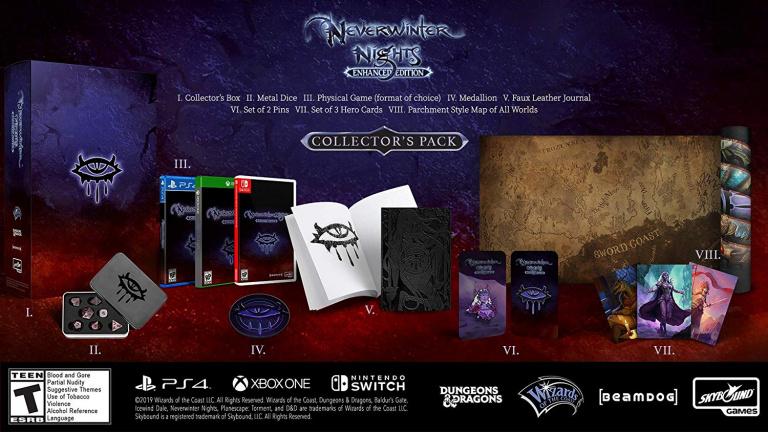 Neverwinter Nights : Enhanced Edition Collector's Pack disponible en précommande
