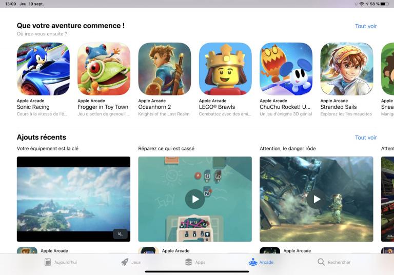 Apple Arcade : découverte en vidéo du nouveau service d'abonnement pour iPhone et iPad