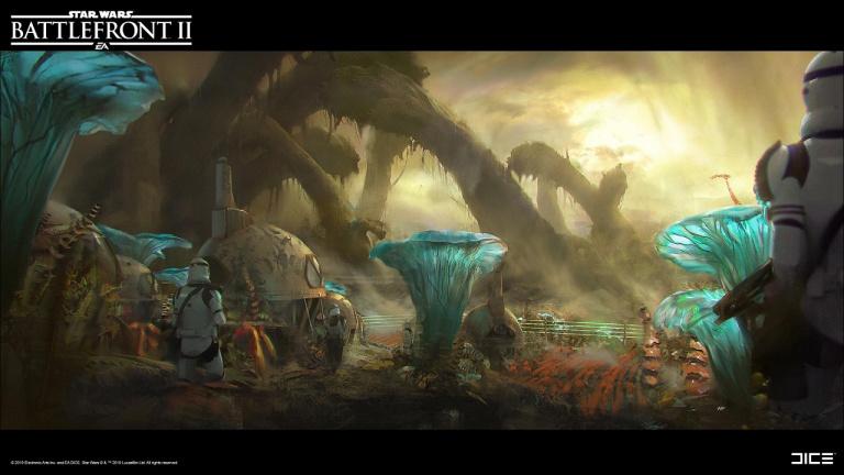 Star Wars Battlefront II : La planète Felucia rejoint le FPS