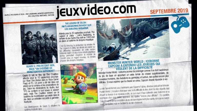 Les infos qu'il ne fallait pas manquer cette semaine : Call of Duty, Final Fantasy VII Remake, Borderlands 3,...