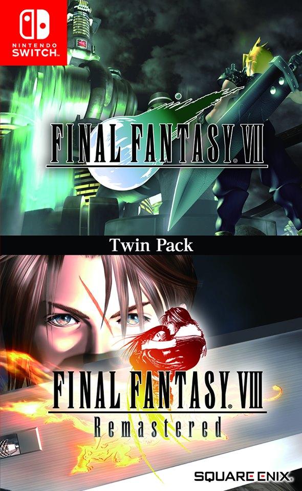 [MàJ] Un bundle Final Fantasy VII et Final Fantasy VIII Remastered en version physique