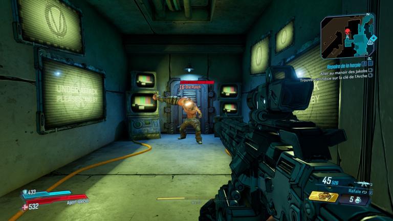 Borderlands 3 : arme One Punch Man, easter egg, emplacement