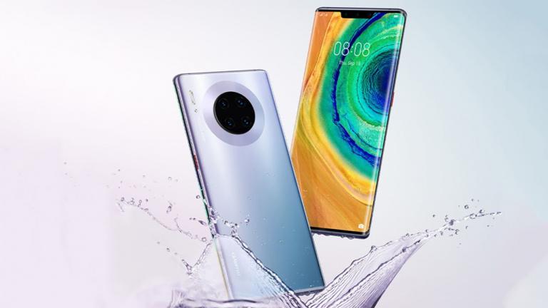 Huawei Mate 30 : nos premières impressions sur le téléphone sans Android