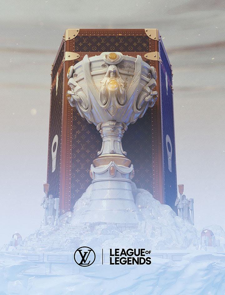 League of Legends : Une malle Louis Vuitton pour le trophée des Worlds 2019