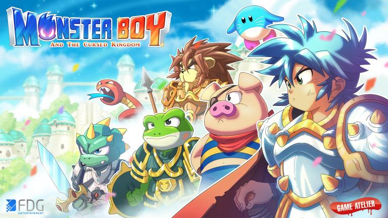 Monster Boy et le Royaume Maudit offre des menus colorés à la Switch Lite