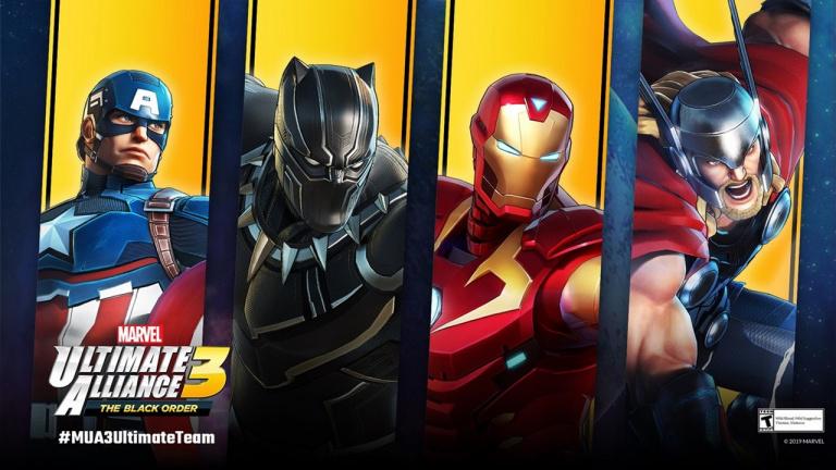 Marvel Ultimate Alliance 3 : une nouvelle fournée de costumes en approche